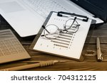 business accounting | Shutterstock . vector #704312125