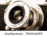 old camera | Shutterstock . vector #704314699