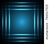technology digital future... | Shutterstock .eps vector #704317525