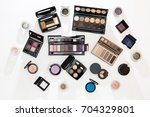many different palettes of eye...   Shutterstock . vector #704329801
