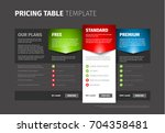 product   service pricing... | Shutterstock .eps vector #704358481