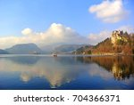 Small photo of Bled lake and Bled Island, Slovenia