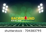 american football field with... | Shutterstock .eps vector #704383795