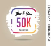 thank you design template for... | Shutterstock .eps vector #704395357