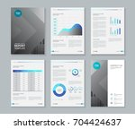 template design for company... | Shutterstock .eps vector #704424637
