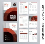template design for company... | Shutterstock .eps vector #704424685