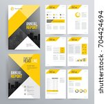 template design for company...   Shutterstock .eps vector #704424694