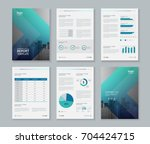 template design for company... | Shutterstock .eps vector #704424715