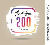 thank you design template for...   Shutterstock .eps vector #704428747
