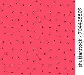 watermelon seeds tropical fruit ... | Shutterstock .eps vector #704435509