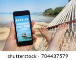 travel booking  hotels and... | Shutterstock . vector #704437579