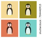 assembly flat icons nature... | Shutterstock .eps vector #704440915