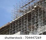 Scaffolding Used As The...