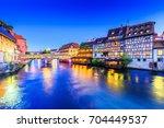 strasbourg  alsace  france.... | Shutterstock . vector #704449537