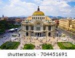 mexico city skyline | Shutterstock . vector #704451691