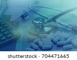healthcare and medical... | Shutterstock . vector #704471665