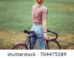 lifestyle and health in the... | Shutterstock . vector #704475289