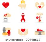 donation and charity icons | Shutterstock .eps vector #70448617