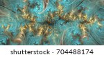 an abstract computer generated... | Shutterstock . vector #704488174