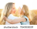 happy healthy family concept. a ... | Shutterstock . vector #704503039