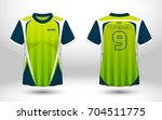 blue and green layout football... | Shutterstock .eps vector #704511775