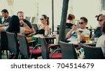 pula  croatia   august 4  2017. ...   Shutterstock . vector #704514679