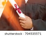 midsection closeup of young... | Shutterstock . vector #704535571