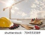 tools | Shutterstock . vector #704553589