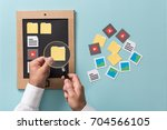 file selection  management and... | Shutterstock . vector #704566105
