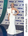los angeles   aug 27   katy... | Shutterstock . vector #704586835