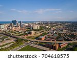 Small photo of Aerial image of Douglass neighborhood in Chicago