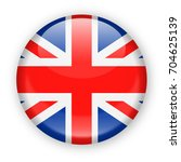 united kingdom flag vector... | Shutterstock .eps vector #704625139