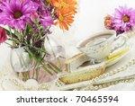 A Beautiful Bright Ladies Tea...