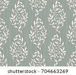 seamless floral pattern.... | Shutterstock .eps vector #704663269