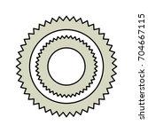 computer gear symbol | Shutterstock .eps vector #704667115