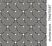 vector seamless pattern. modern ...   Shutterstock .eps vector #704670187