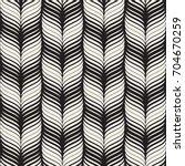 seamless wavy pattern.... | Shutterstock .eps vector #704670259