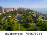 aerial photo of the lincoln... | Shutterstock . vector #704675365