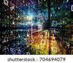 digital city series.... | Shutterstock . vector #704694079