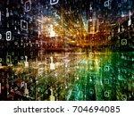digital city series.... | Shutterstock . vector #704694085