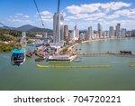 aerial view of balneario... | Shutterstock . vector #704720221