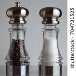 A Salt And Pepper Shaker Side...