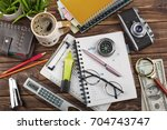 business accounting | Shutterstock . vector #704743747