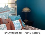 Teal Bedroom Corner