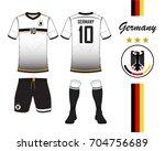 germany football national team... | Shutterstock .eps vector #704756689