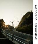 windmill | Shutterstock . vector #704770195
