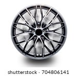 alloy wheels separated from the ... | Shutterstock . vector #704806141