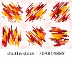 modern stripes abstract... | Shutterstock .eps vector #704814889
