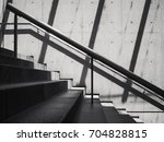 stairs cement concrete wall... | Shutterstock . vector #704828815