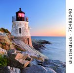 Beautiful Old Lighthouse On...